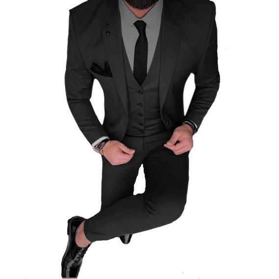 Chaleco Saco Chupin Zapato Cinto Y Camisa Import Usa