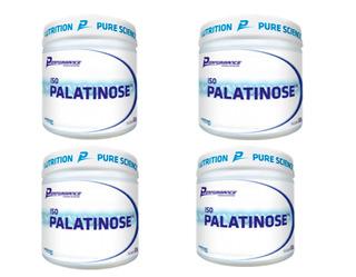 4x Palatinose Perfomance 300 Gr Cada Total 1200 Gr