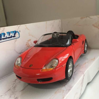 Miniatura Porsche Boxter Welly Conversível