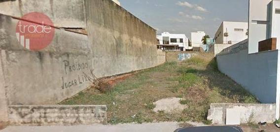 Terreno Para Alugar, 300 M² Por R$ 2.000/mês - Alto Da Boa Vista - Ribeirão Preto/sp - Te0969
