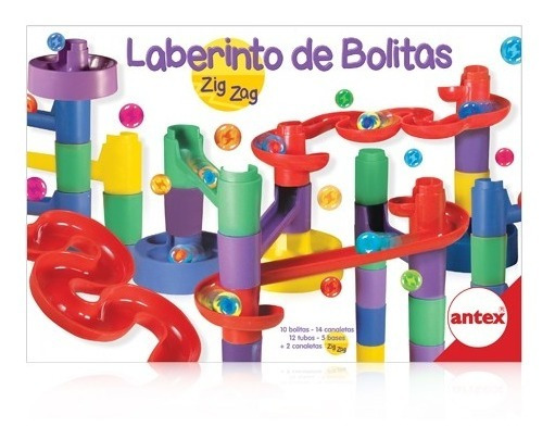 Laberinto De Bolitas Zig Zag Juego De Mesa Original Antex