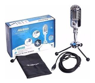 Microfono De Consensador Alctron Um280 Usb, Envío Gratis