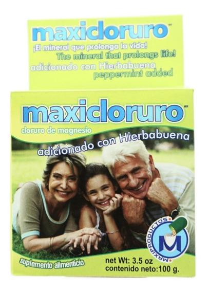 Cloruro De Magnesio 100gr Maxicloruro