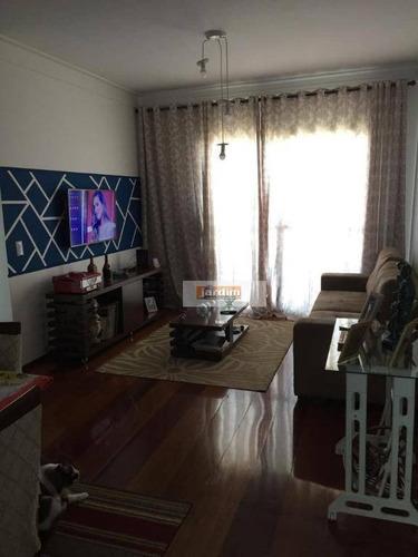 Umas Das Ruas Mais Calmas Do B.baeta-apartamento Com 3 Dormitórios À Venda, 94 M² Por R$ 510.000 - Baeta Neves - São Bernardo Do Campo/sp - Ap6175
