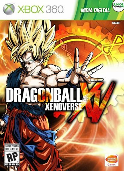 Dragonball Xenoverse Xbox 360 Midia Digital