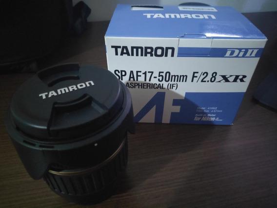 Lente Nikon Tamron Af 17-50mm F/2.8 Xrdi - Praticamente Nova