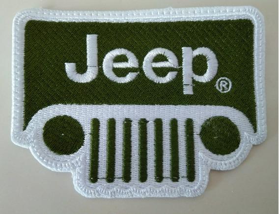 Parche Bordado Jeep Marcas De Autos