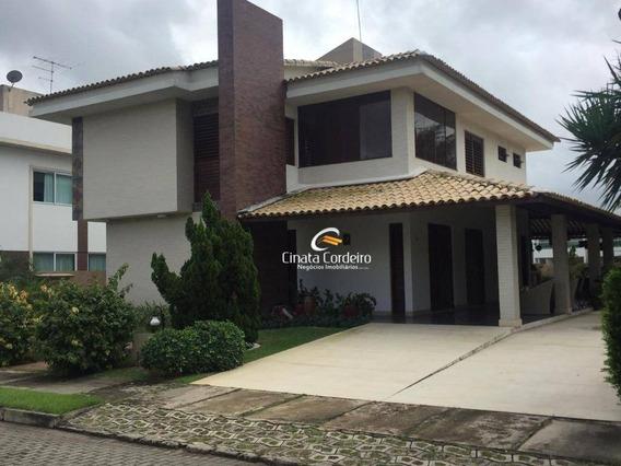 Casa Com 4 Dormitórios À Venda Por R$ 1.350.000 - Loteamento Bela Vista - Cabedelo/pb - Ca0147