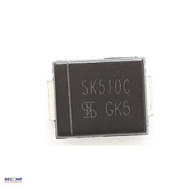 Diodo Sk510c Ss510 Mb510 Original 10 Pçs 100v 5a