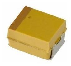 Condensador de tántalio de estado SMD 68uf 16v 10/% c caso Pack de 10 Z538