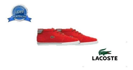 Zapatillas Lacoste Ampthill 318 Rojo 3p2 Original