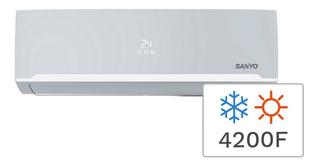 Aire Acondicionado Split Frío/calor Sanyo 4200f 5100w Kcs50h