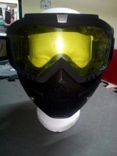 Careta Gotcha/ Motociclista /snowboard/ Airsoft