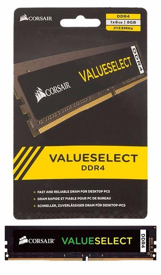 Memória Corsair 8gb Ddr4 2133 Value Select Cmv8gx4m1a2133c15