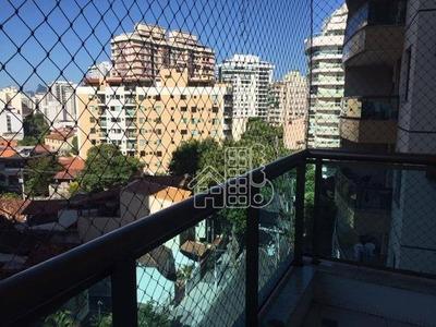 Apartamento Com 2 Dormitórios À Venda, 94 M² Por R$ 620.000 - Santa Rosa - Niterói/rj - Ap2413