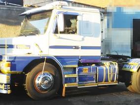 Scania T-112 Hs 4x2 Ano 1988 + Carreta Schiffer Ano 1986