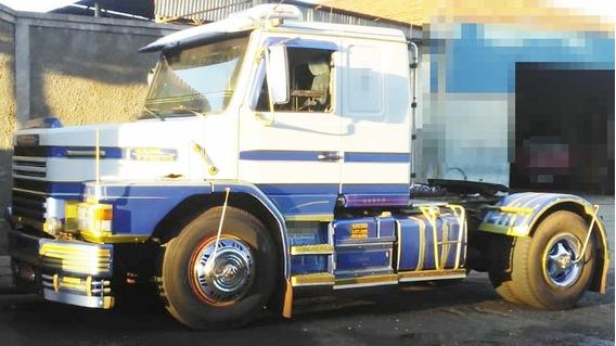 Scania T-112 Hs 4x2 Ano 1988 + Carreta Schiffer Ano 1986*