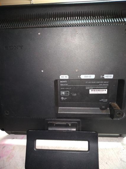 Monitor Sony Sem Hs75p Com Defeito Não Liga