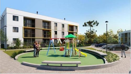 Apartamento Com 2 Dormitórios À Venda, 48 M² Por R$ 158.875,00 - Boqueirão - Araucária/pr - Ap0451