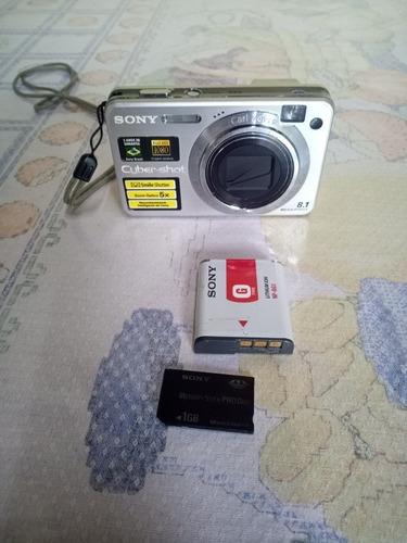 Imagem 1 de 9 de Câmera Sony  W150 Funcionando