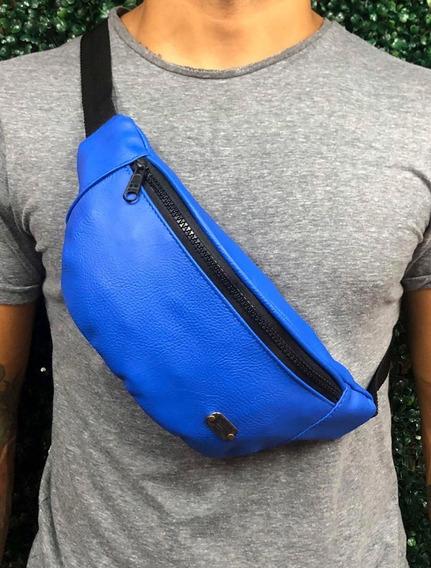 Riñonera Unisex Desigual Expandible Azul