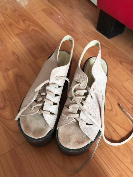 Zapatos Sarkany Acordonados