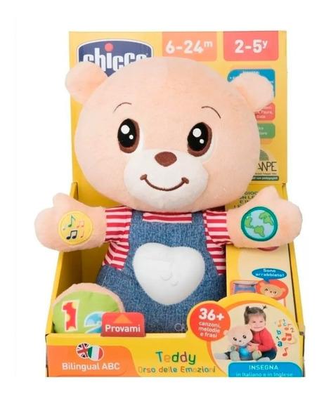 Oso Teddy Interactivo Enseña Emociones Chicco Bebes Educando
