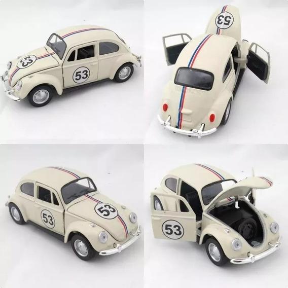 Miniatura Vw Fusca 1967 Herbie 53 Escala 1:32 Promoção