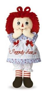 Aurora World Raggedy Ann Classic Doll 12