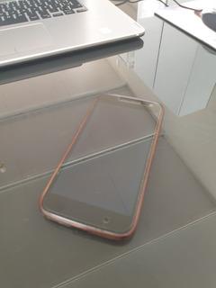 Celular Moto G4 Com Duas Capinhas (roxa E Preta)