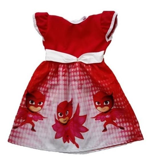 Vestido Infantil Festa Lx Corujita - Roupa/ Fantasia