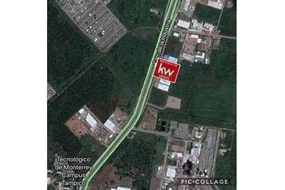 Terreno En Venta Fracc. Comercial Fimex En El Parque Industrial De Altamira