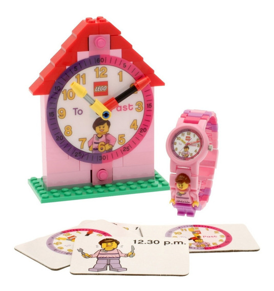 Reloj Niño Time Teacher O9005039 Lego & Bulbbotz Oficial