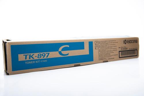 Imagen 1 de 2 de Toner Tk-897c Kyocera Original