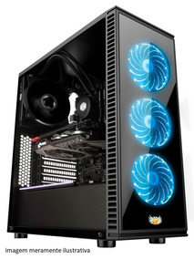 Pc Gamer Core I5 16gb 1tb Gtx 1050 Water Cooler Wi-fi 500w
