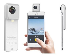 Camera 360 Graus Insta360 Nano 3k Para iPhone