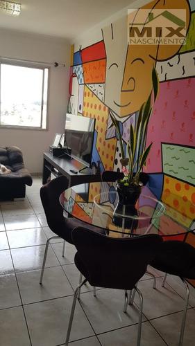 Apartamento Em Taboão - São Bernardo Do Campo, Sp - 3096