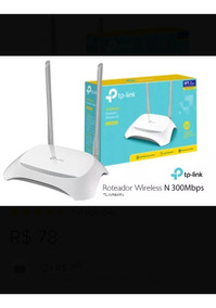Router Tp-link Wr849n(br) 300mbps Wifi N Ant. Fixas