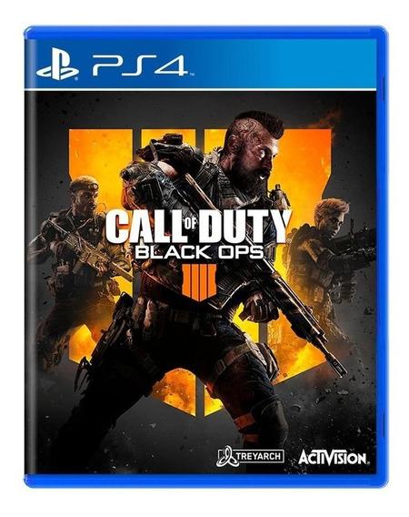 Call Of Duty Black Ops 4 Ps4 Cod Bo4 Ps4 Pronta Entrega!!