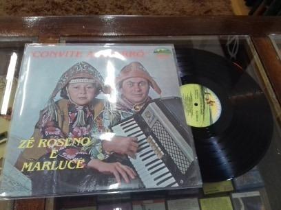 Lp Zé Roberto E Marluce - Convite Ao Forró - 1979
