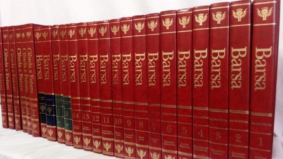 Livros Enciclopédia Barsa - 24 Volumes (vermelha)