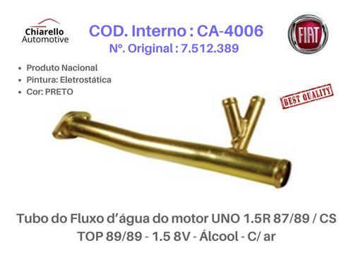 Tubo Dágua Uno 1.5r Cs Top 89/89 - 1.5 8v - Álcool - C/ar