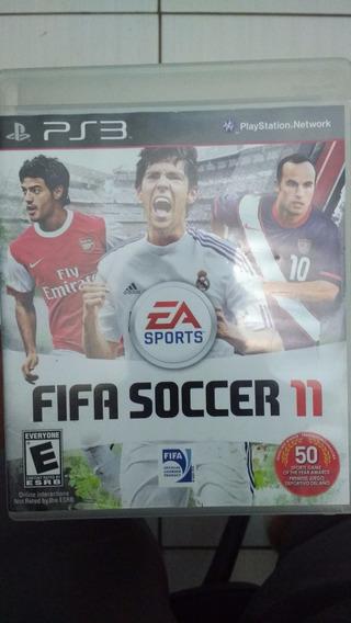 Fifa 11 Ps3 Original Midia Fisica Bluray, Frete Gratis