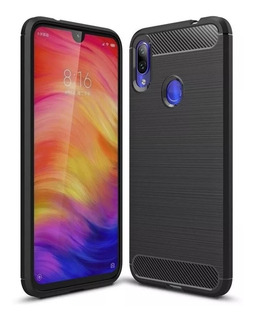 Funda Fibra Carbono Rugged Xiaomi Redmi 7