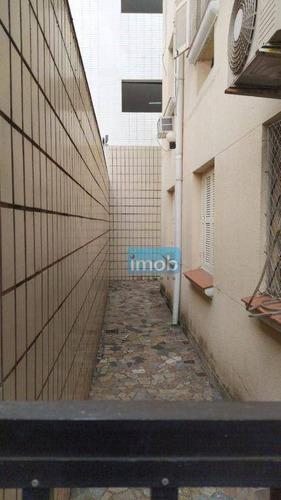 Imagem 1 de 5 de Apartamento Com 2 Dormitórios À Venda, 76 M² Por R$ 290.000,00 - Boqueirão - Santos/sp - Ap7983