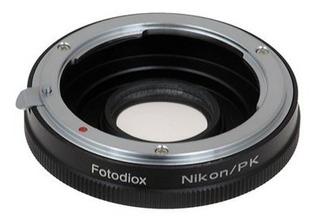 Adaptador De Montura Para Usar Lente Nikon En Camara Pentax
