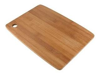 Tabla Cocina Para Picar Madera Bambo Chef 19 X 28 Cm