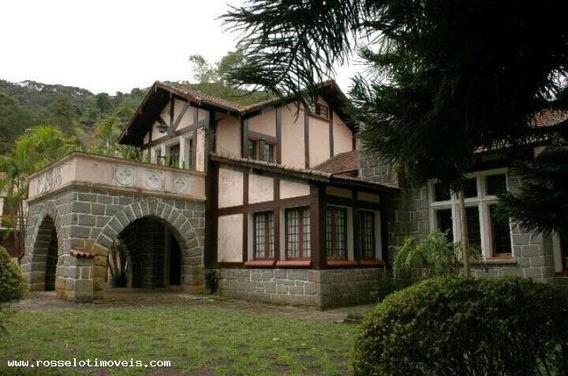 Sítio Para Venda Em Teresópolis, Fischer, 10 Dormitórios, 4 Suítes, 8 Banheiros, 2 Vagas - St425