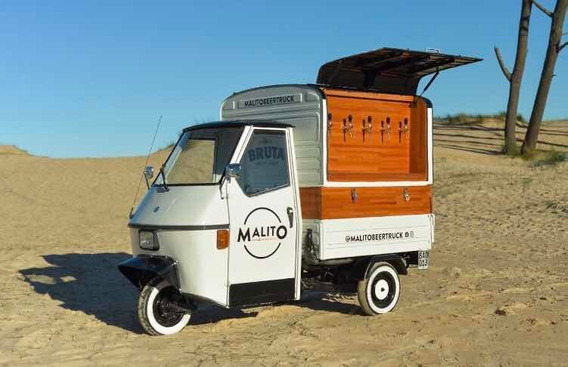 Piaggio Ape, Beer Truck
