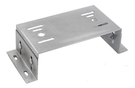 Suporte Base P/ Fixação Motor Portão Eletrônico Deslizante